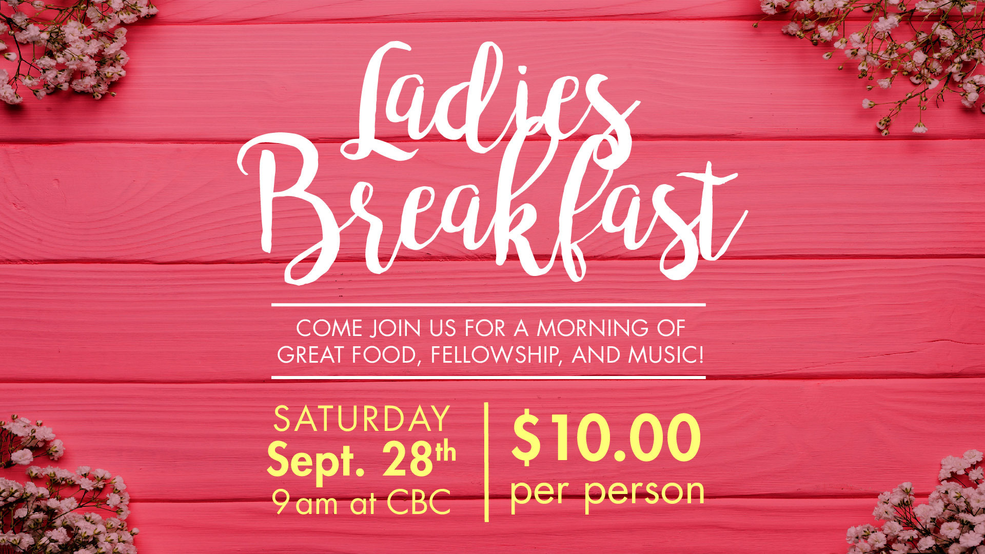 Ladies Breakfast